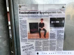 Artikel om Mellem Rum i Fyns Amts Avis